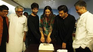 Padmaavat Success Party With Shahid Kapoor, Deepika Padukone, Sanjay Leela Bhansali