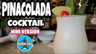 how to make pina colada cocktail | bacardi rum cocktail | in hindi