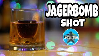 how to make jager bomb in hindi | jager bomb shot | shot recipe | jagerbomb cocktail in hindi