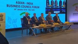Dr Sanjaya Baru, Secretary General, FICCI at ASEAN India Business Council Forum