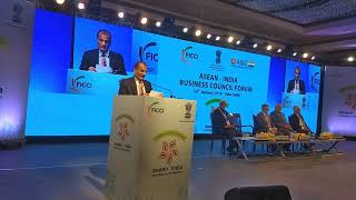 Rashesh Shah, Co-Chair AIBC (India) & President FICCI at ASEAN India Business Council Forum