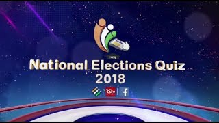 National Elections' Quiz 2018 - Promo