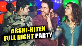 Hiten Tejwani, Arshi Khan, Sabyasachi FULL NIGHT PARTY | Bigg Boss 11 Party