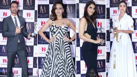 Arjun Rampal, Swara Bhasker, Shilpa Shetty, Vaani Kapoor Attend Nexbrands Brand Vision Summit 2018