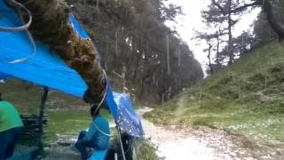 Hail Storm in Jibhi Himachal Pradesh