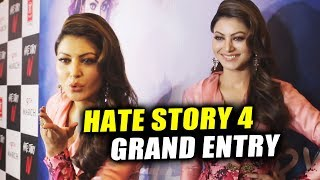 Urvashi Rautela GRAND ENTRY At Aashiq Banaya Aapne Song Launch | Hate Story 4