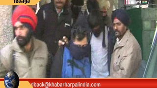 Police Encounter With Gangster In Ferozpur Makhu