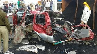 3 women among 11 died in major accident in Ferozpur