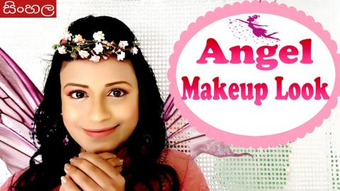 Angel Makeup Look (Srilankan)