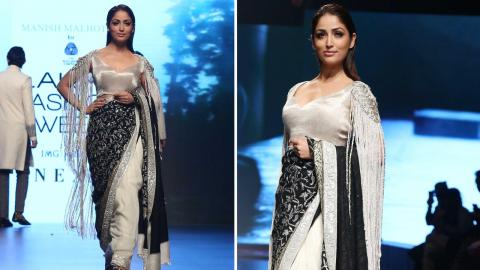 Yami Gautam Turns Showstopper For The Inaya Collection By Manish Malhotra At LFW 2018