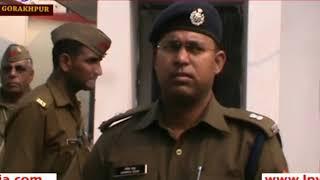 गोरखपुर: पुलिस मुठभेड़ में 50 हजार का इनामी बदमाश गिरफ्तार, दो दारोगा घायल