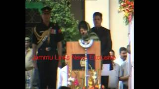 Mehbooba Mufti -- the first woman CM of Jammu and Kashmir