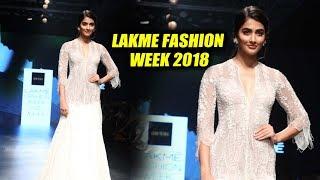 Gorgeous Pooja Hegde Ramp Walk At Lakme Fashion Week 2018 | LFW 2018