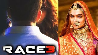 RACE 3 First Look - Salman Khan's Favorite Pose, Padmaavat - Karni Sena Backs Out From Protest
