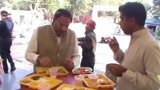 Faridabad - मंत्री विपुल गोयल ने खाई 10 रुपये वाली थाली   लोग हुए हैरान