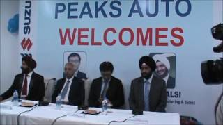 Peaks Auto inaugurates 5th outlet of Maruti Suzuki in J&K