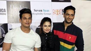 Vikas Gupta, Prince Narula & Yuvika Chaudhary At Shein Offline Store