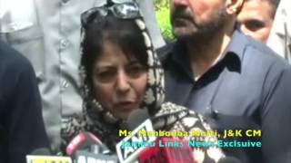 It's time for Pakistan to respond if it wants peace in Kashmir: Mehbooba