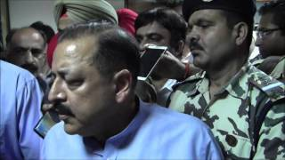 Pakistan's role in J&K violence stands exposed: Dr. Jitendra Singh