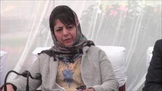 Militants active in Kashmir valley but security forces dealing them: Mehbooba Mufti
