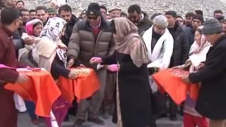 CM Inaugurates bridge over Shouq river at Thang village