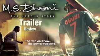 M S Dhoni - The Untold Story Official Trailer Review