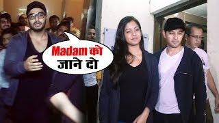 Arjun Kapoor, Vatsal Sheth & Ishita Dutta Spotted At PVR Juhu