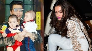 Deepika Padukone At Karan Johar Kids Yash and Roohi Birthday Party