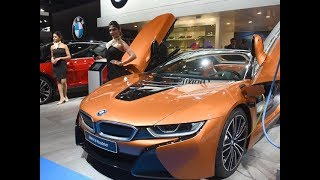 Auto Expo 2018- BMW showcases 6-Series GT, i8 Roadster, third-gen X3