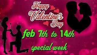 valentains week |rose day,propose day,chocolateday,teddyday,pramise day,kiss day, spl | rectv india