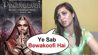 Arshi Khan's DUMB Reply On Padmaavat Jauhar Controversy