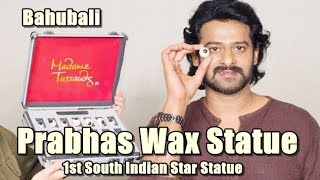 Prabhas Wax Statue At Madame Tussauds Museum