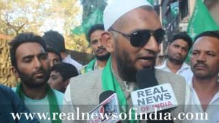 Nazrein Nagarsevak Per With Asif Tanwar AIMIM Party 2017 BMC Election Ward No.97