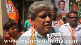 Nazrein Nagarsevak Per With Dereyk Talker, BJP Candidate Ward 101