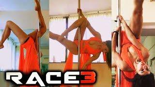 Jacqueline Fernandez POLE DANCE Rehearsal For Salman's RACE 3
