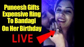 Puneesh Sharma Celebrates Bandagi's Birthday - Bandagi Birthday Party