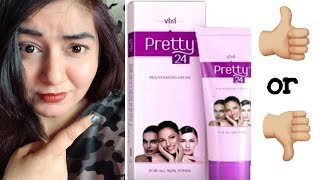 Pretty 24 Cream Review - Fairness Cream? | JSuper Kaur