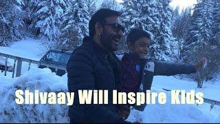 Ajay Devgn: Shivaay Will Inspire Kids