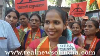 Nazrein Nagarsevak Per With Rohini Kamble, Shiv Sena Candidates Ward No.93..