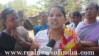 Adivasi Say no Govt Development in Aadivasi Area SGNP No Toilet, No Water, No Light...