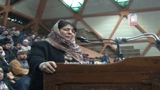 Peace in JK will compel India, Pak to end animosity: Mehbooba Mufti