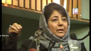 Implementing agenda of alliance only solution to woes: Mehbooba Mufti