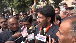 Congress Holds Massive Protest In Front Of RBI Over Demonetization