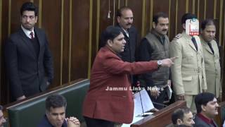 Opposition stages walkout from JK Assembly over Jammu lake project