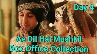 Ae Dil Hai Mushkil Box Office Collection Day 4