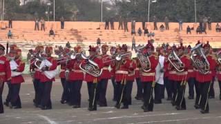 Beating retreat ceremony held in Jammu