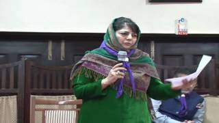 Mehbooba appreciates role of scouting movement, says youth development is Govt's priority
