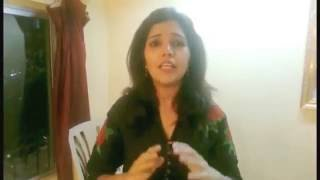 Mukta Barve tells why to download CafeMarathi Mobile App | CafeMarathi