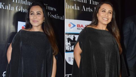 Rani Mukerji Attends Kala Ghoda Arts Festival 2018
