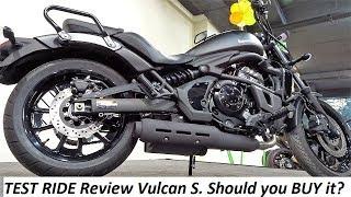 TEST RIDE Review Kawasaki Vulcan S. Should you BUY it?